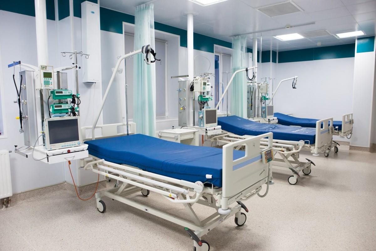 Палата реанимации в больнице Оренбурга № 2